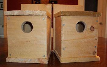 Make a Birdhouse for Under $1