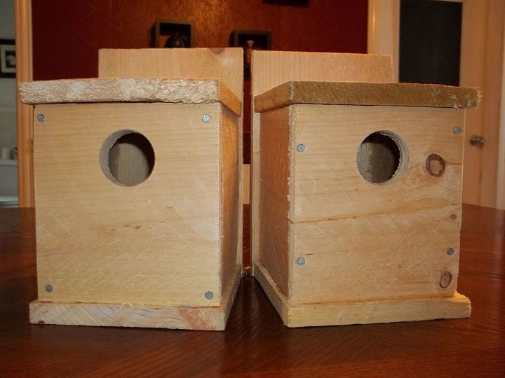 make a birdhouse for under 1, crafts, woodworking projects