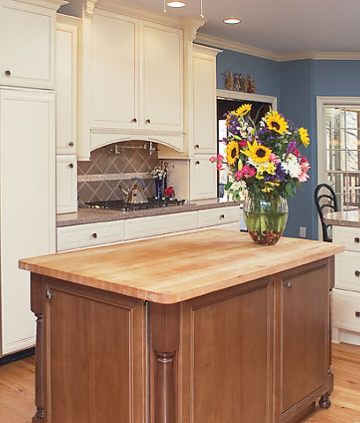 """Step up your game with a """"counter depth"""" refrigerator.  This style is the entry level to allow you to install matching wood fronts.  Box of the refrigerator is 24"""" deep, but do take note that the door is thicker."""