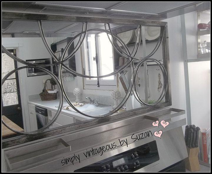 mirror backsplash, diy, home decor, kitchen backsplash, kitchen design, wall decor, It s a perfect fit