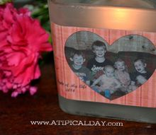diy light of my life candle, crafts, seasonal holiday decor