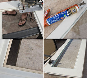 How to install glass to your kitchen cabinets | Hometalk