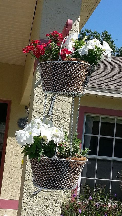 update on new fl gardens, gardening, Wire baskets found at store chain from Ace