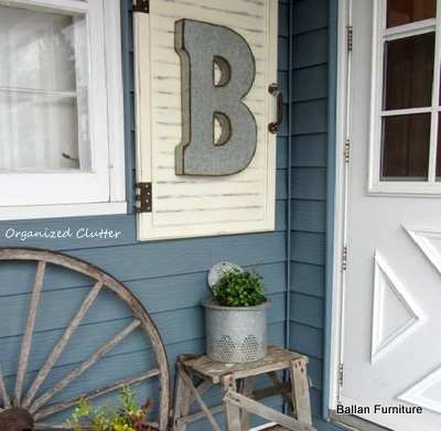 Outdoor Decor Cabinet Door Frame Upcycle Repurpose Hometalk