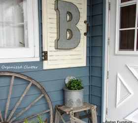 Outdoor Decor Cabinet Door Frame Upcycle Repurpose, Decks, Home Decor,  Patio, Repurposing