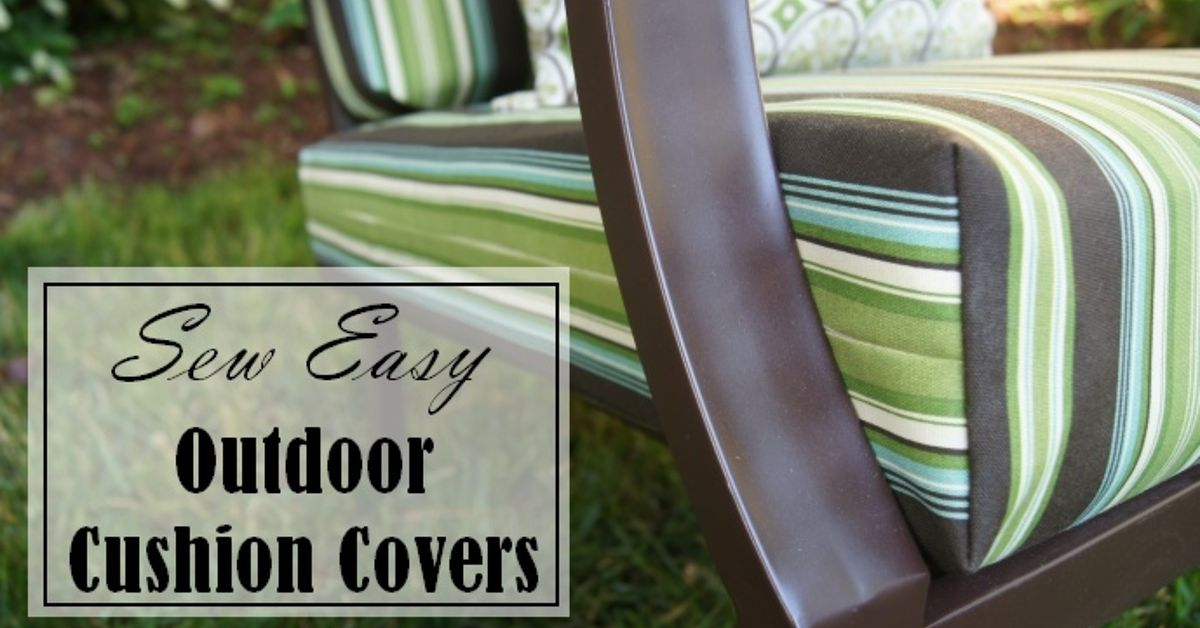 - Sew Easy Way To Cover Those Old Outdoor Cushions! Hometalk