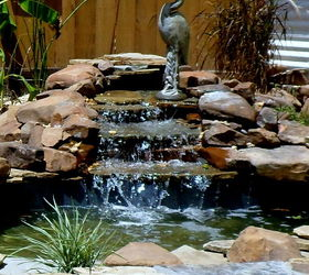 Backyard Pond With Waterfall, Ponds Water Features ...