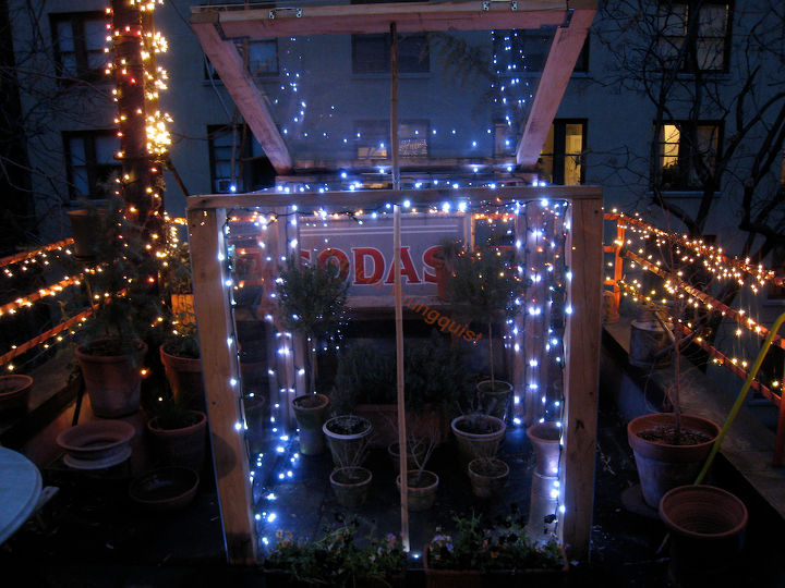 Cold Frame OPEN (NIGHT) Year One. Image included in a Life on the Balcony @  https://www.facebook.com/TheLastLeafGardener/app_119255214825893