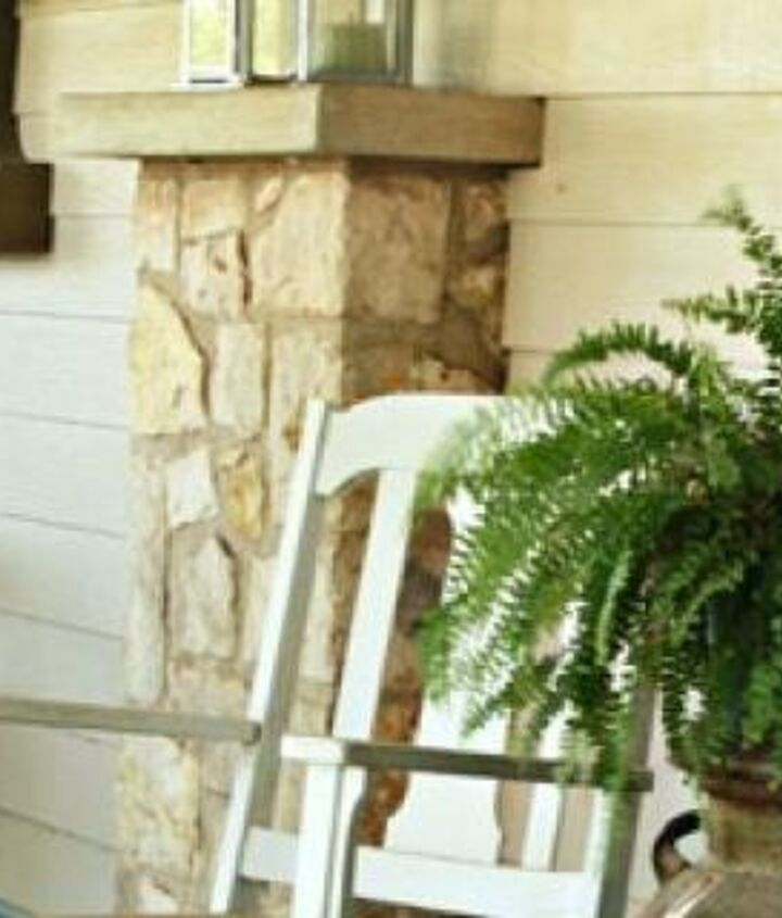 There's nothing like a rocker on the front porch to encourage friend to sit a spell and visit.