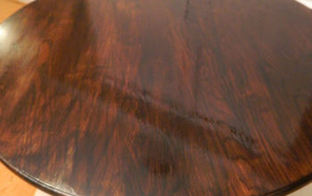{A dining room update}....See how I refinished a dated oak table...and now you can too!