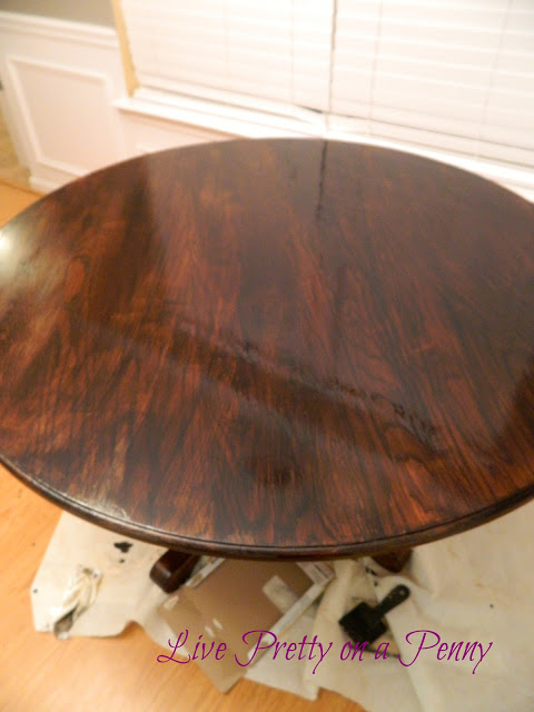 Oak Table After