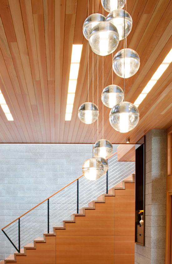Interior Stair _ Ellis Residence, Coates Design Architects, Seattle (photo by Lara Swimmer)