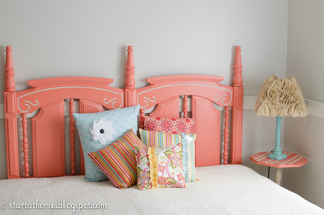 headboard love, bedroom ideas, painted furniture, repurposing upcycling