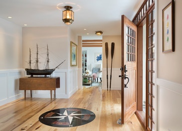 decorating with wooden oars, home decor