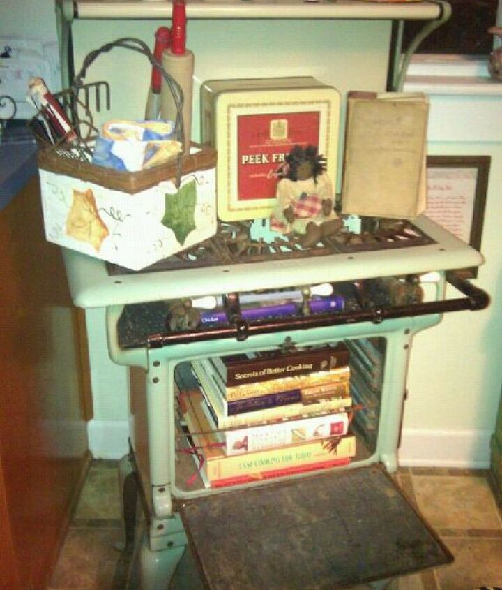 Useful idea to store my favorite cookbooks