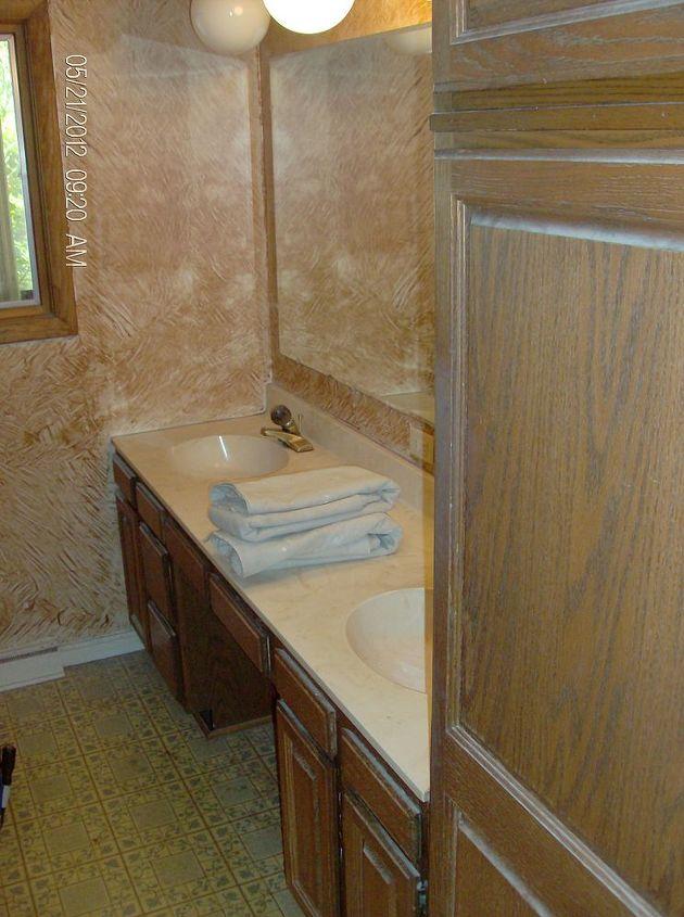 Old vanity and sink top.