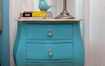 antique nightstand revamp, painted furniture, Antique Nightstand Revamp You can find the full tutorial here