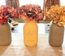 decorating for fall with ball jars, crafts, seasonal holiday decor, Just one of the many ways I used Ball jars to decorate for Fall