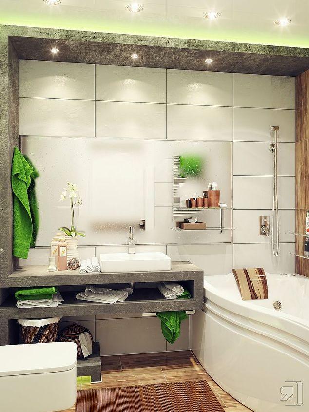 modern small bathroom design ideas, bathroom ideas, home decor, small bathroom ideas