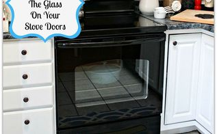how to clean in between the glass on your stove doors, appliances, cleaning tips, doors, Clean the space between your oven doors