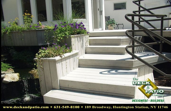 Trex deck, landings and stairs