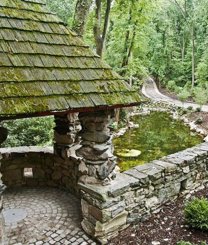 Large pond built on Long Island by Deck and Patio Company www.deckandpatio.com
