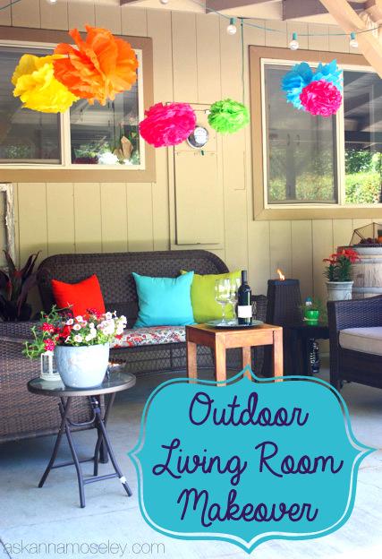 outdoor living room, outdoor living
