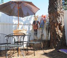 new garden in a forgotten corner, gardening, outdoor living