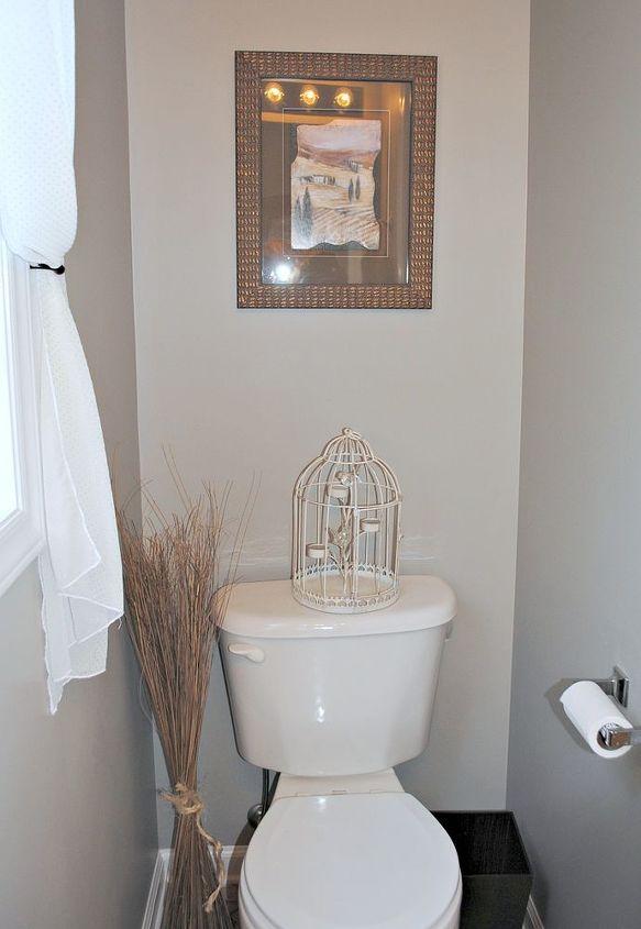 half bath makeover, bathroom ideas, home decor