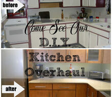 amazing kitchen overhaul, countertops, home decor, home improvement, kitchen cabinets, kitchen design, wall decor, When we bought our 80 s house I hated the kitchen My handy husband said she has good bones the rest we can fix I just couldn t see it but in the end he was right