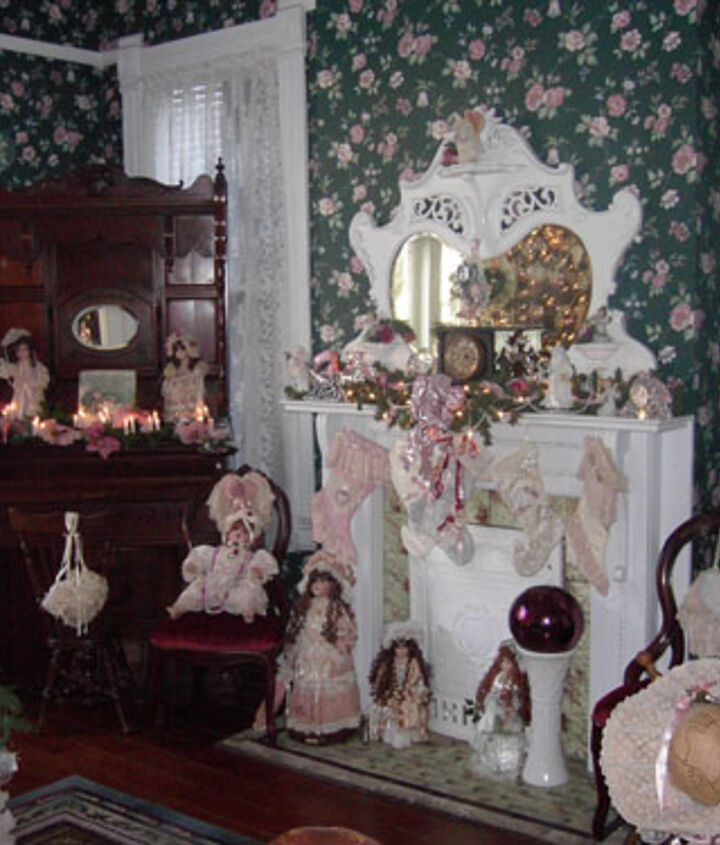 i love decorating our 1895 queen anne victorian for christmas with 12 trees, christmas decorations, seasonal holiday decor, wreaths