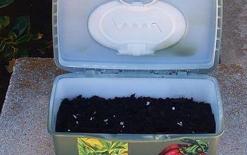 Portable Plastic Planter