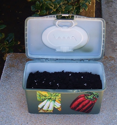 portable plastic planter, container gardening, crafts, gardening, repurposing upcycling