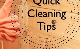 guests coming and the house is a mess, cleaning tips