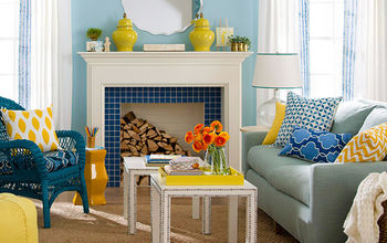 Add Color to Your Living Room By Taysha Murtaugh