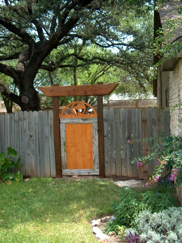 Diy Outdoor Garden Ideas Backyard transformation on a budget hometalk diy gate workwithnaturefo