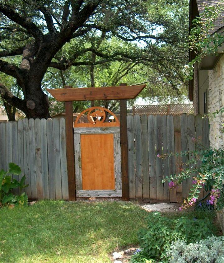 DIY gate
