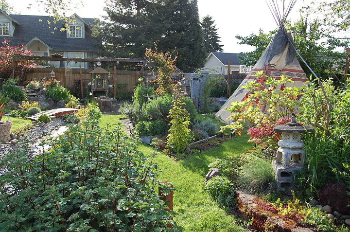my backyard habitat, gardening, outdoor living, patio, pets animals