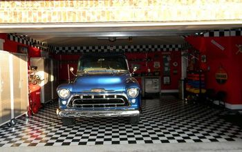 garage, garages, home decor, For those of you who requested pics of the truck in the garage