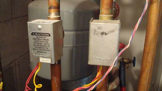 q heat won t turn off, home maintenance repairs, hvac, lower zone 1 and zone 2 valves