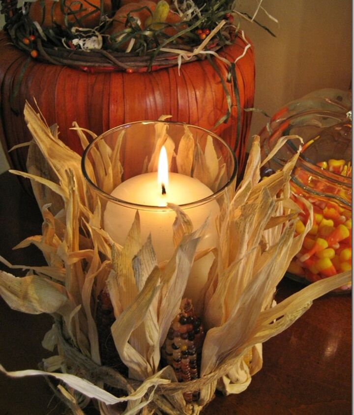 Love the look of these easy fall decorations!
