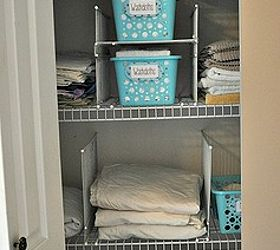 This Hack Will Keep Your Linen Closet Organized For Good, Closet, Shelving  Ideas,