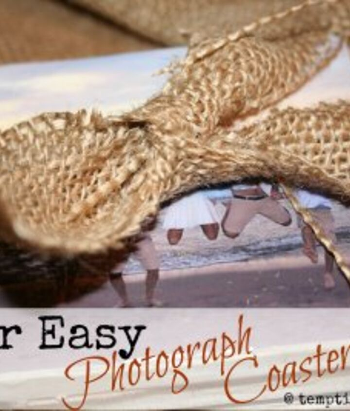 how to make coasters using ceramic tile amp photographs, crafts