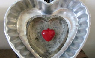 thrift shop heart valentine s day craft, christmas decorations, repurposing upcycling, seasonal holiday d cor, valentines day ideas, You can glue or use double stick tape to assemble the hearts