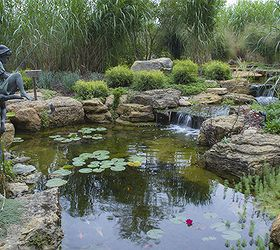 Amazing Pond And Waterfall In Suburban Chicago, Gardening, Outdoor Living, Ponds  Water Features,