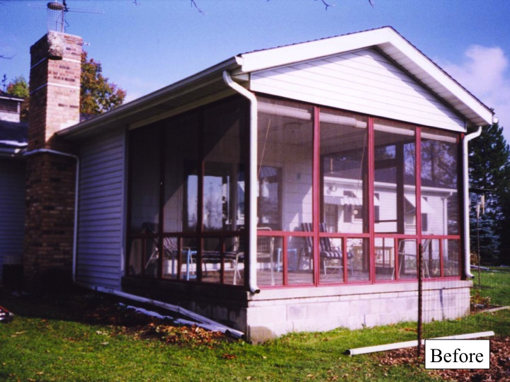 porch enclosure, curb appeal, home improvement, patio, porches, Dirty and wet porch