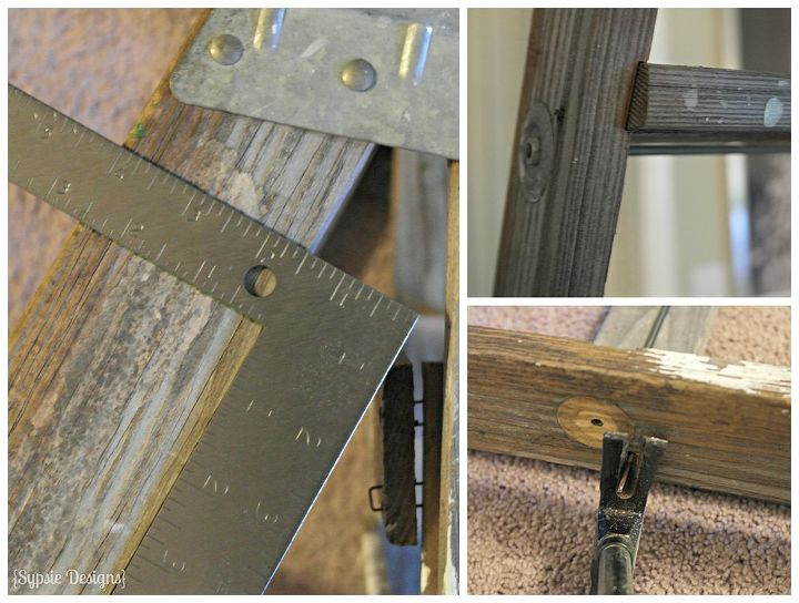 two upcycled projects from one old ladder, bathroom ideas, home decor, repurposing upcycling