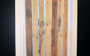 diy pallet wood vertical blinds, diy, pallet, repurposing upcycling, window treatments, windows, woodworking projects