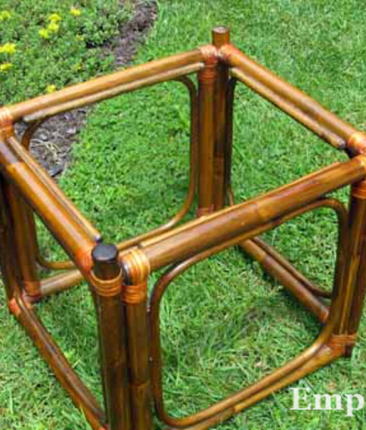 Look for a strong wooden or metal table base.