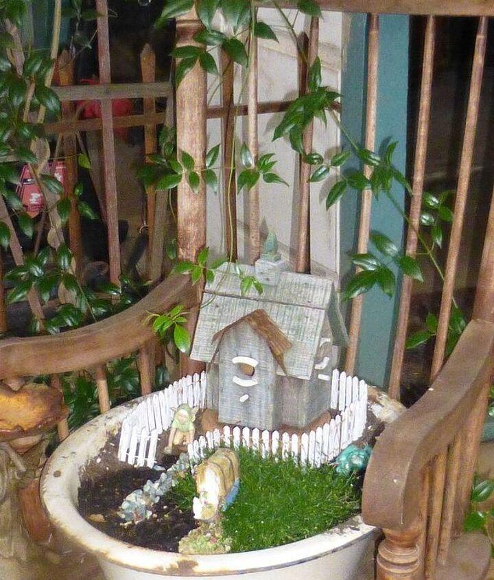 and the fairy garden